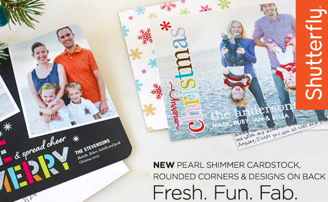 Shutterfly's 2013 Holiday Card Collection