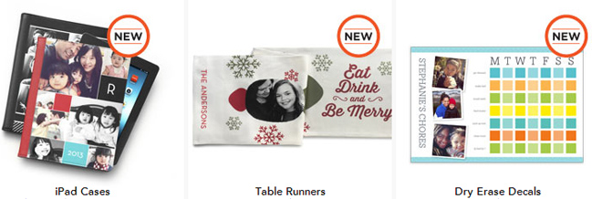 Shutterfly New Photo Gifts