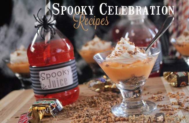 Spooky Celebration Recipes #SpookyCelebration #Shop