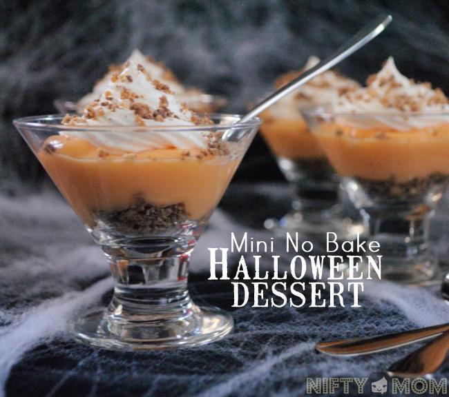 Easy No Bake Halloween Dessert  #SpookyCelebration #Shop