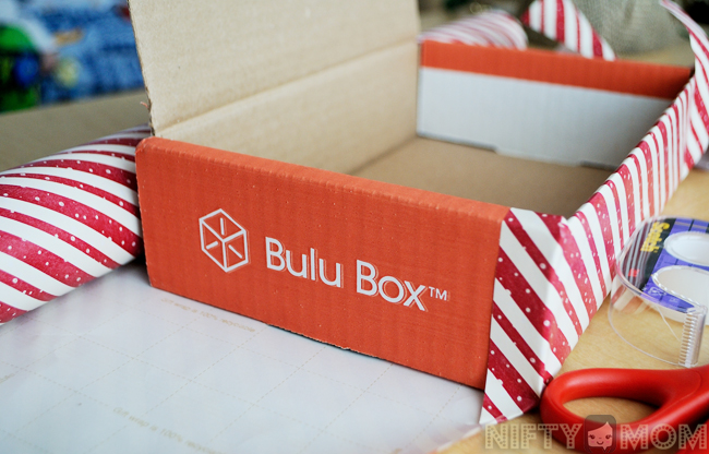 Upcycled Bulu Box to Hold Activity Ornaments for Bucket List
