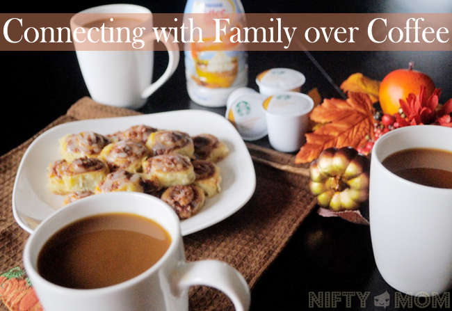 Connecting with Family over Coffee #LoveYourCup #Shop