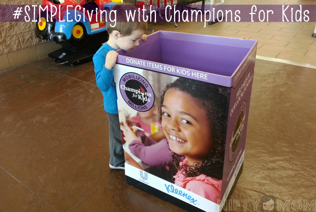 #SIMPLEGiving with Champions for Kids at Walmart #shop