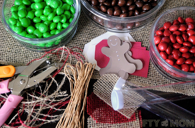 Supplies for Candy Tube Gifts with Printable Labels #HolidayMM #shop
