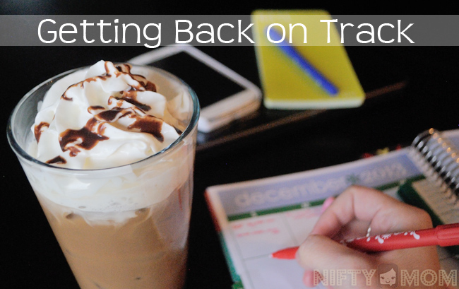 Getting Back on Track with #GMIcedLatte