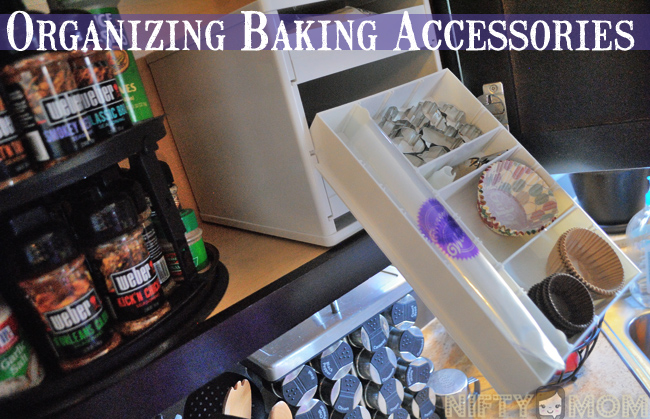 Organizing Baking Accessories