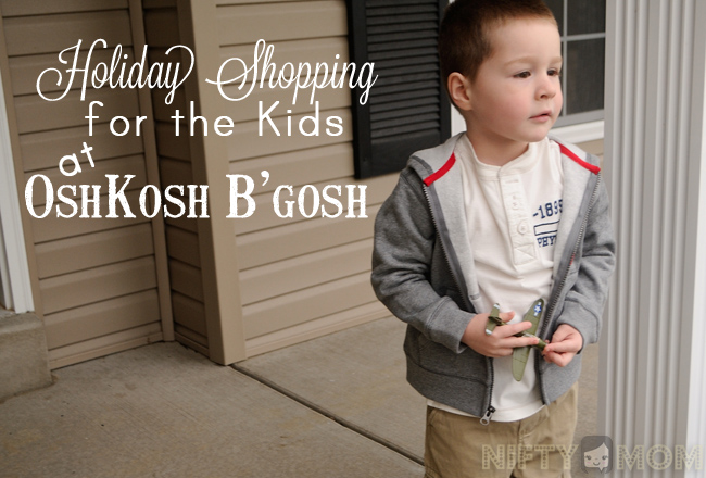 Shopping at OshKosh B'gosh #MC #OshKoshBosh