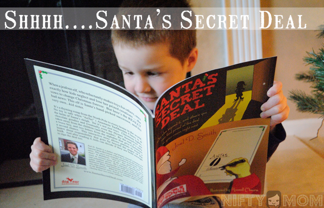 Santa's Secret Deal - Children's Book by Joel D. Smith