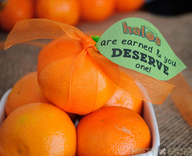 Gift Idea - You Deserve a Halos with free printable