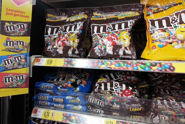 M&M's at Walmart
