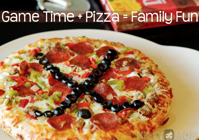 Game Time Pizza for Family Fun