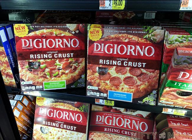 DiGiorno Pizza at Walmart on Rollback Pricing