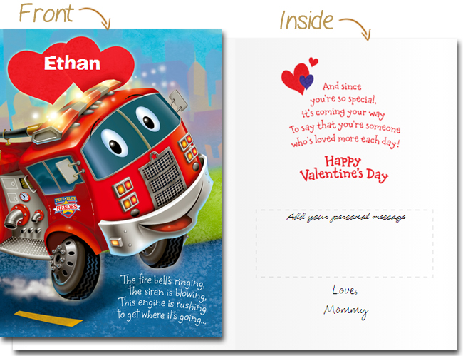 Kids Valentine's Day Card