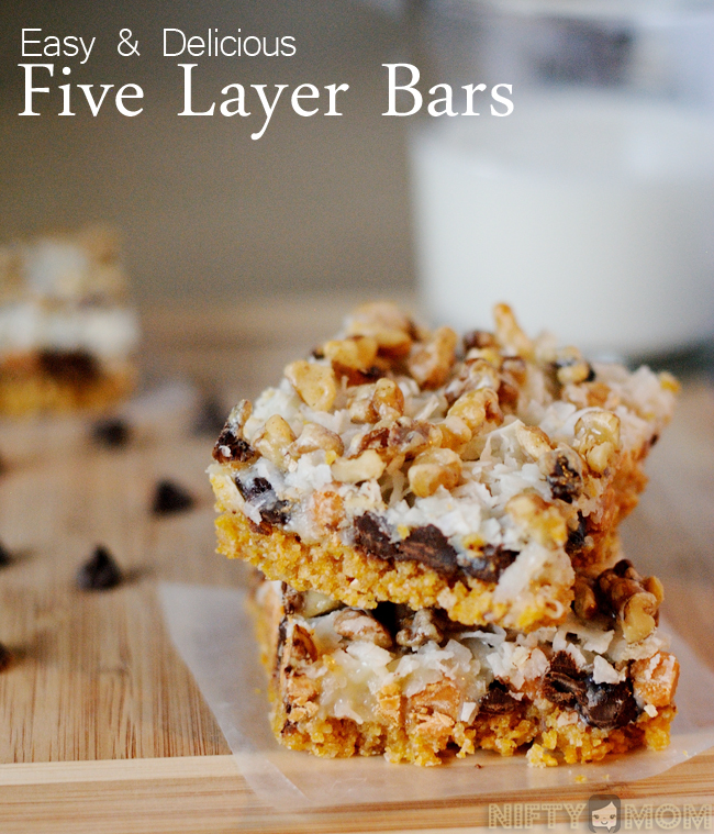 Easy & Delicious Five Layer Bars Recipe