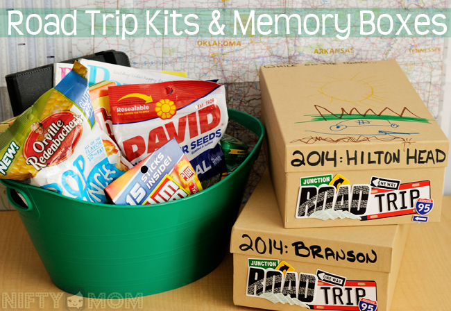 Road Trip Kits & Memory Boxes for the Whole Family #cbias #shop