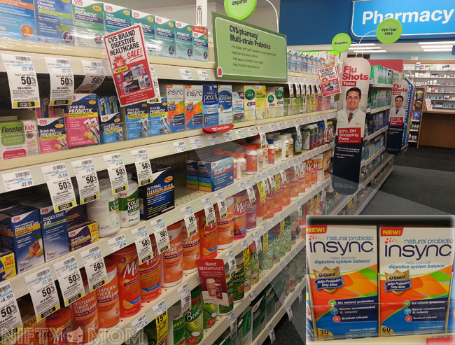 Insync Probiotics at CVS #shop #naturalprobiotic