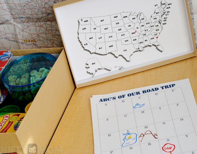 Road Trip Kid's Activities #shop #cbias