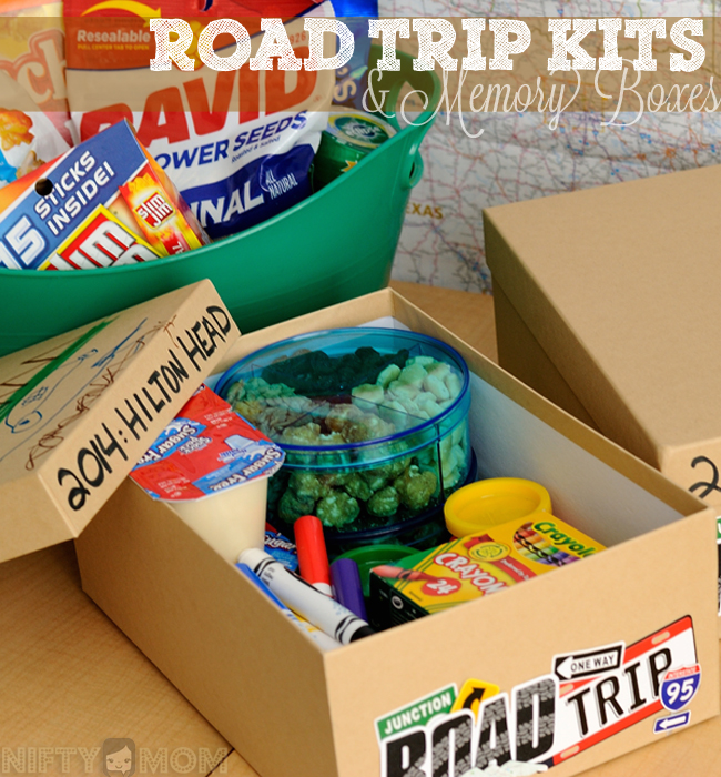 Road Trip Kits & Memory Boxes for the Whole Family #shop #cbias