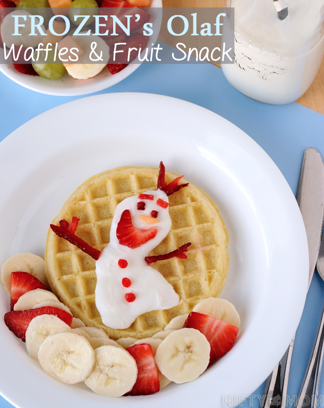 FROZEN's Olaf Waffles & Fruit Snack #FROZENFun #shop