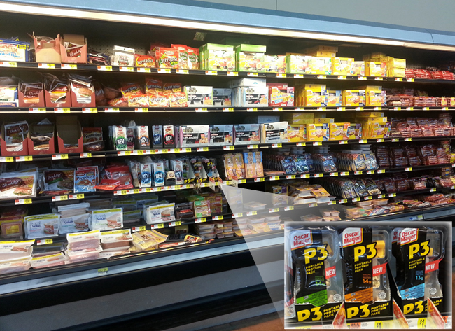 Oscar Mayer P3 at Walmart #PortableProtein #shop