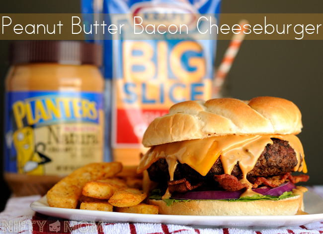 Peanut Butter Bacon Cheeseburger #SayCheeseburger #shop
