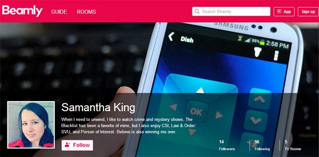 Samantha King Beamly Profile - Follow Me