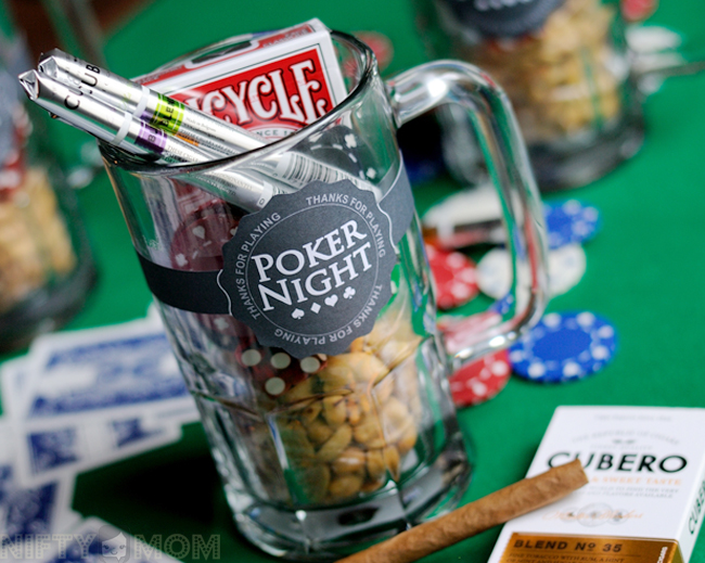 Poker Night Player Gifts