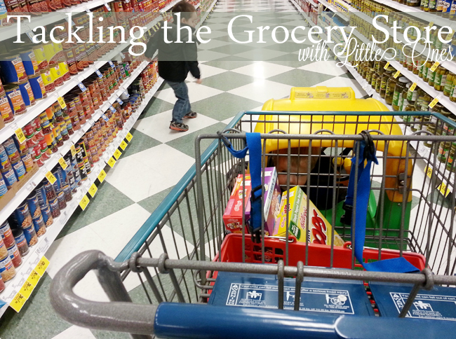Tips for Shopping with Little Ones