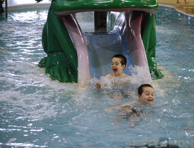 Castle Rock Indoor Waterpark Activity Pools