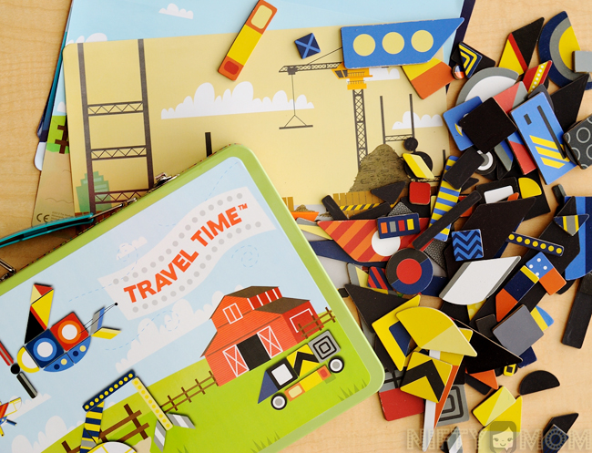 109 Piece Magnet Travel Time Playset