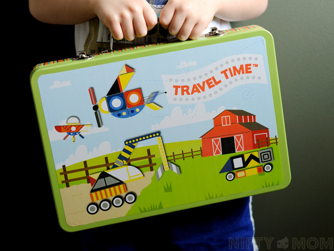 Travel Time Magnetic Playset