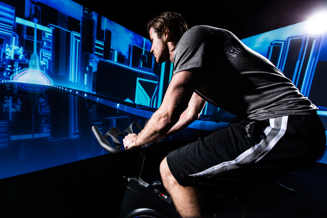 Immersive-Fitness-Cycling