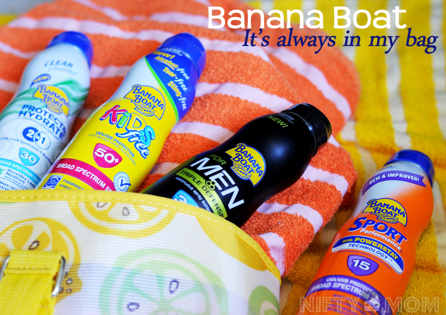 Banana Boat - It's Always In My Bag #BBBestSummerEver
