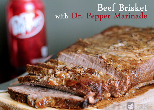 Beef Brisket with Dr Pepper Marinade #BackyardBash #shop