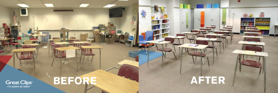 #GreatList Adopt A Classroom Makeover