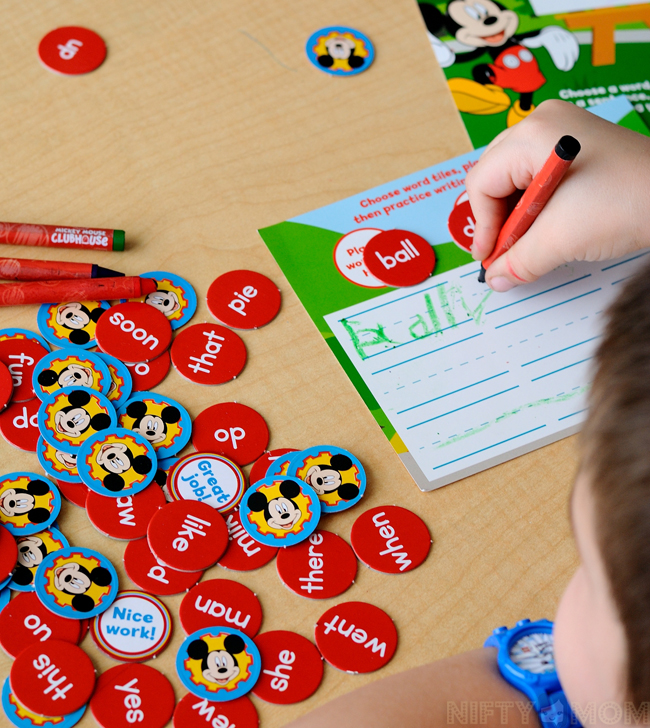 Disney Jr First Words Activity #Ready4Preschool #shop