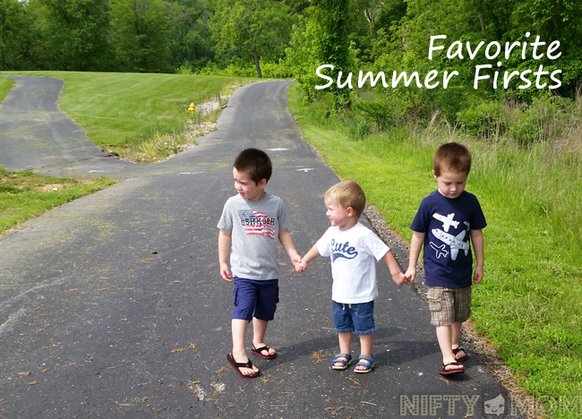 Favorite Summer Firsts