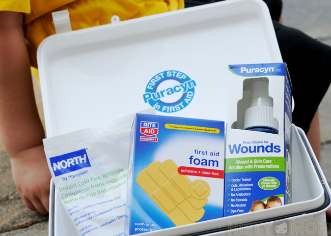 Puracyn First Aid Kit