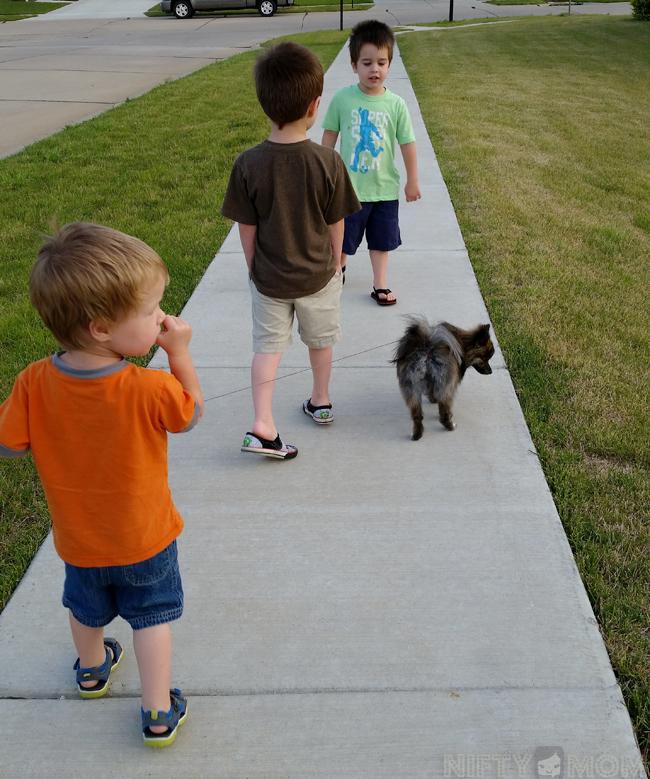 Walking Ellie