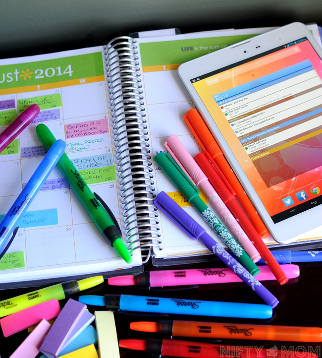 Color-Coding for Organization #TabletTrio #shop