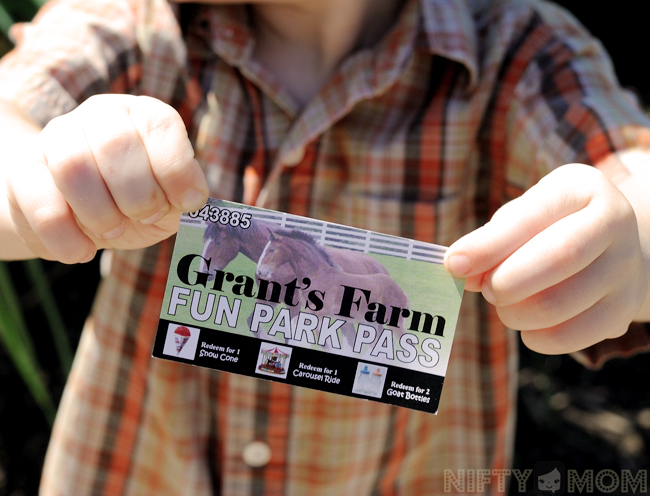 Grant's Farm Fun Park Pass for just $5