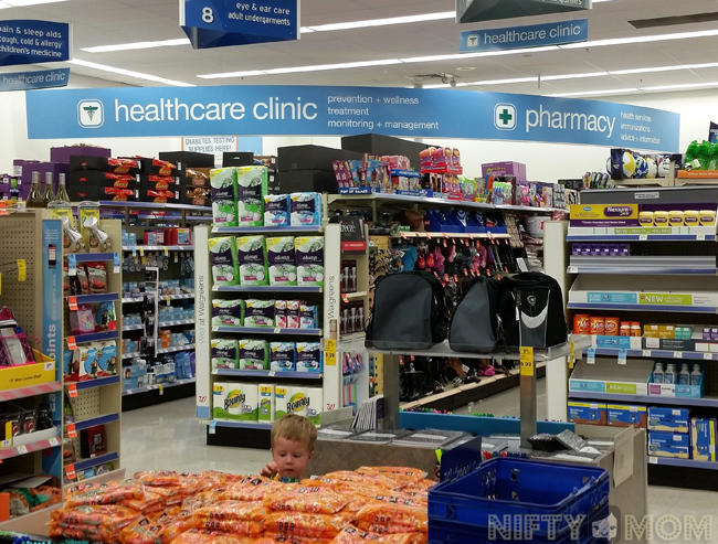 Walgreens Healthcare Clinic #GiveaShot #shop