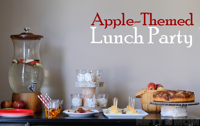 Apple Themed Lunch Party #TrySamsClub #shop