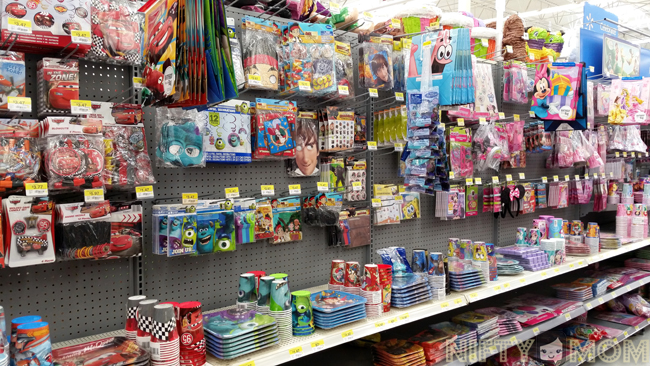 Disney Party Supplies at Walmart #JuniorCelebrates #shop