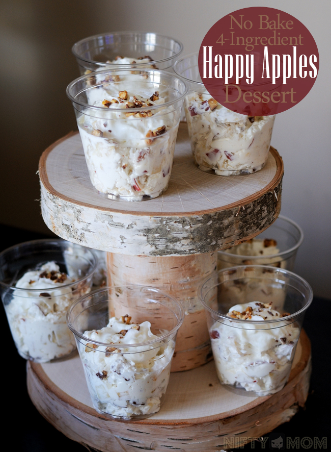 No-Bake 4-Ingredient Happy Apples Dessert great for a fall party!! #TrySamsClub #shop