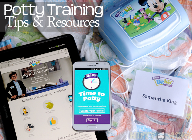 Potty Training Tips & Resources
