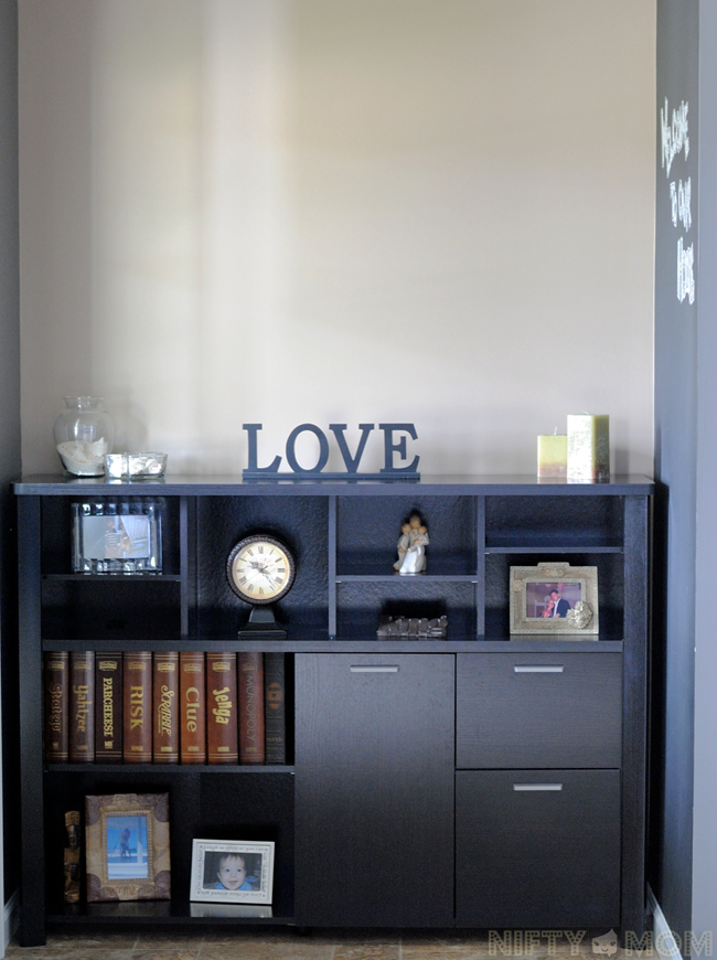 Entry Foyer Credenza : Accidently finding the perfect furniture piece for our