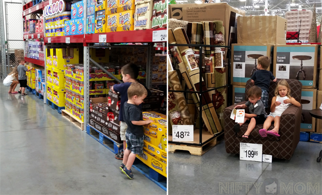 Shopping at Sam's Club with Kids #TrySamsClub #shop