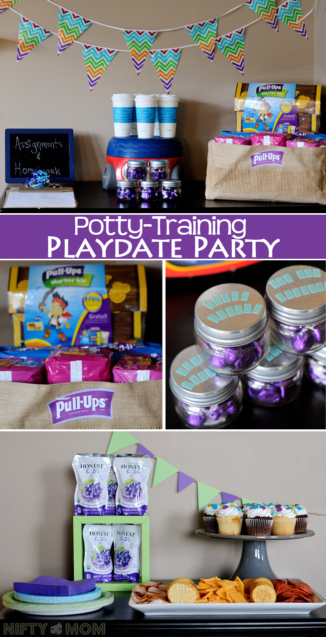 Host a Potty Training Party to Share Tips with Fellow Parents & Encourage the Toddlers