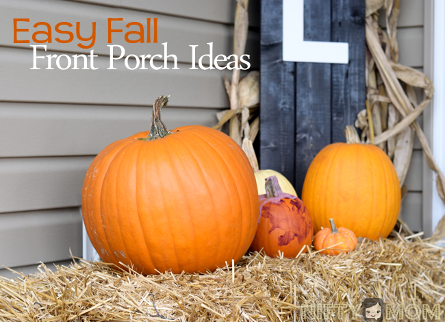 5 Easy Fall Porch Decorations